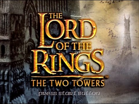 My first time playing The Lord of the Rings   The Two Towers on Playstation 2