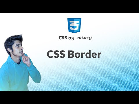 learn css border in hindi (border-style, border-shadow, border-color) - Learn CSS in Hindi
