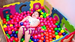 Learn Colors for Kids And Having Fun in The Ball Pit