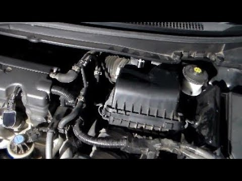 How to change Engine Air Filter 2012-2015 Honda Civic