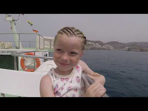 boat from puerto rico to puerto mogan - and back  (gran canaria)