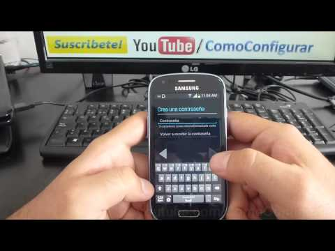 como registrarse en google play store Samsung Galaxy S3 Mini español Full HD