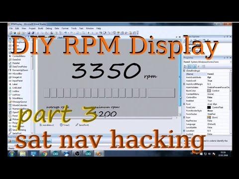 DIY Rpm Display #3, writing win CE program in VB2008