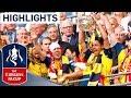 Arsenal 4 0 Aston Villa 2015 FA Cup Final Goals Highlights