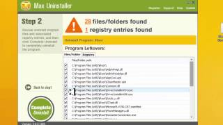 شرح عملاق ازالة البرامج من جذورها Max Uninstaller مع التفعيل  | الحلقة 478