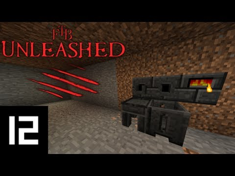 Minecraft FTB Unleashed - 1x12 - Learning to Tinker Pt. 1