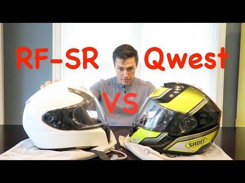 Shoei RF-SR vs Shoei Qwest