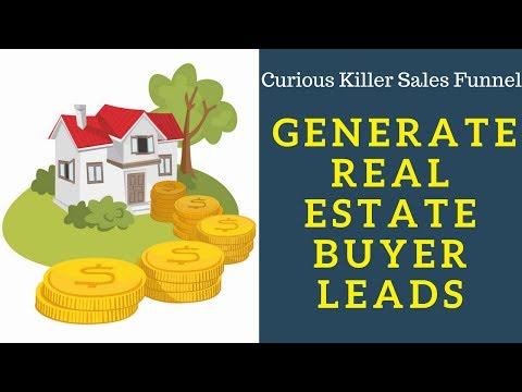 How To Generate Real Estate Buyer Leads.
