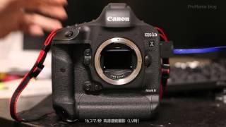 シャッター音 Canon EOS-1D X Mark II Shutter Sound