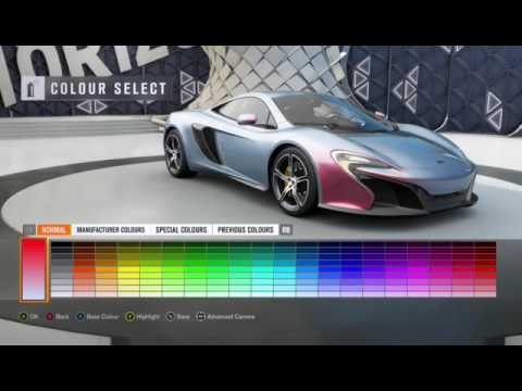 FH3 How to make a cool paint job