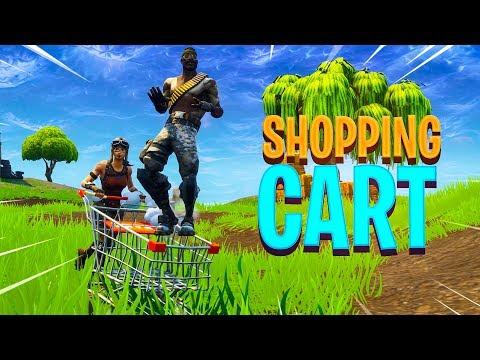 Fortnite SHOPPING CART Gameplay