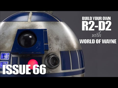 Build Your Own R2-D2 - Issue 66 - Installing the Projector