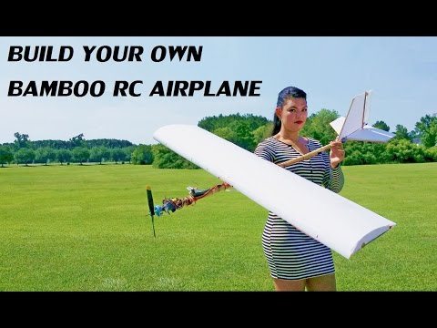 DIY your own Bamboo RC Airplane