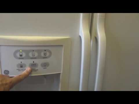 GE Side by Side Refrigerator Water Line Repair