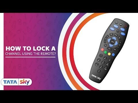 Tata Sky-How to lock a channel