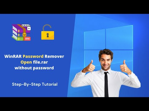 WinRAR Password Remever [Open file.rar without password ]