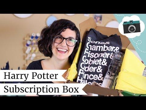 April Accio! Unboxing - Harry Potter Subscription Box   @laurenfairwx