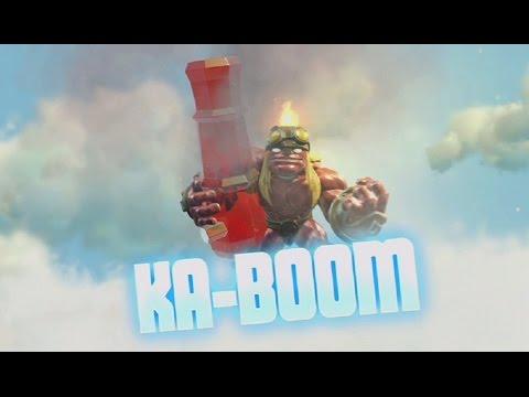 Skylanders: Trap Team - Ka-Boom's Soul Gem Preview (Boom Time)
