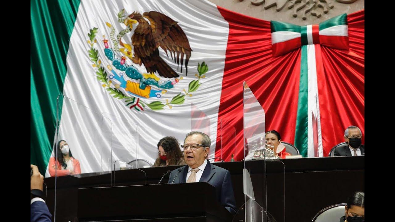 Dip. Porfirio Muñoz Ledo (MORENA) - En contra de la Ley Orgánica del Poder Judicial de la Federación
