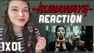 """Runaways reaction [1x01] """"Reunion"""""""