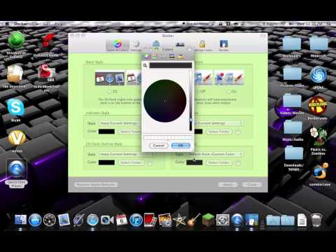 How To Change Your Dock Color On Mac