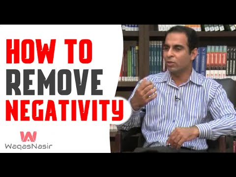 How To REMOVE and AVOID Negativity-By Qasim Ali Shah | In Urdu