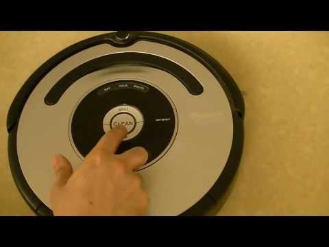 IRobot Roomba 560 500 600 series Reset procedure