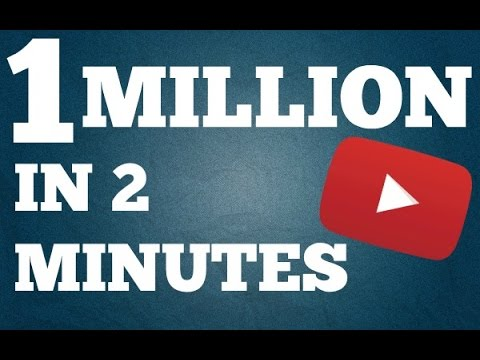How To Get 1 Million Subscribers In 2 Minutes