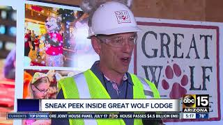 Sneak peek inside Arizona's Great Wolf Lodge