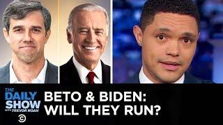 Beto O'Rourke's Texas-Sized Tease & Joe Biden's Lead in Presidential Polls | The Daily Show