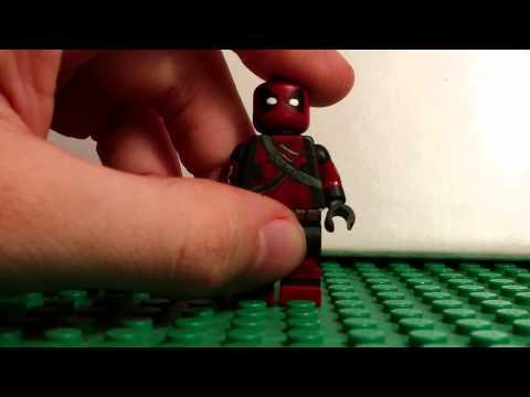 Lego Custom Deadpool