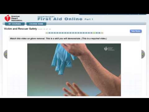 Heartsaver First Aid Online Part 1 Demo
