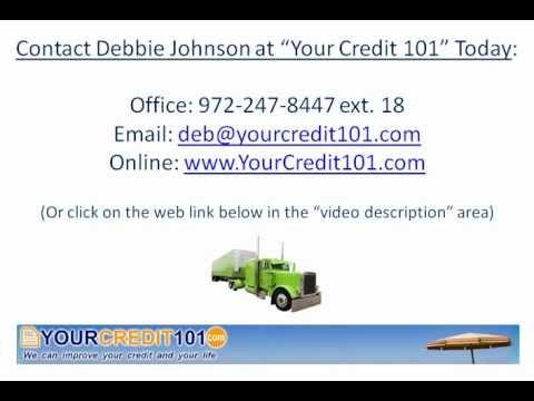 Commercial Truck Financing - BAD CREDIT? Credit Repair? Financing Anyway?