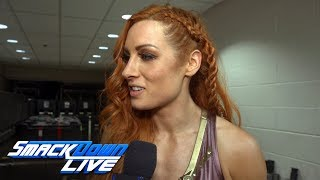 Becky Lynch is determined to face Carmella at SummerSlam: SmackDown Exclusive, July 17, 2018