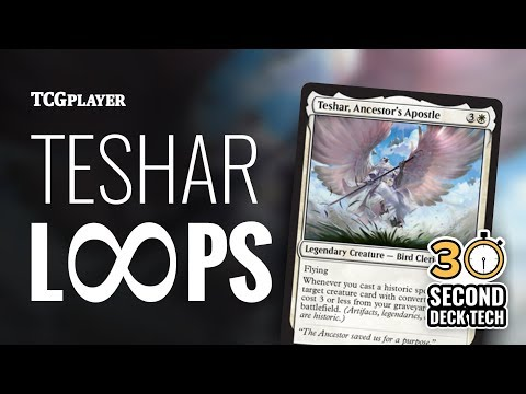 [MTG] Teshar Loops - Infinite life & damage in Standard! | 30 Second Deck Tech