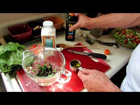 TRG 2012:  Recipe: A Basic Heirloom Tomato, Olive Oil, Vinegar & Garlic Salad Dressing