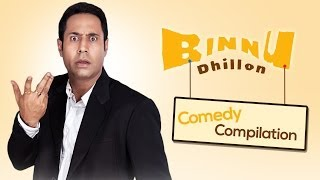Best of Binnu Dhillon - Comedy compilation 2013-2014 | Punjabi Comedy - Sagahits