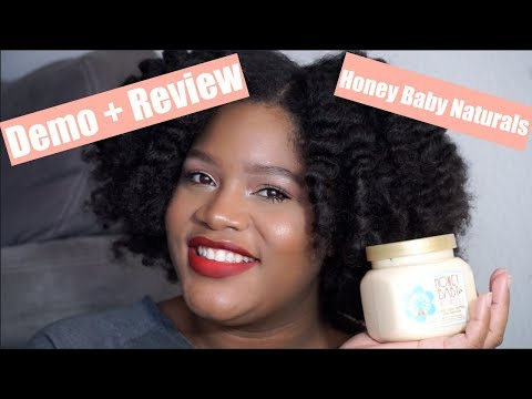 Demo + Review | Honey Baby Naturals Hair Smoothie!