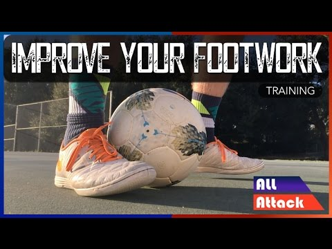 How to Improve Your Footwork in Soccer! 4 Exercises | Training