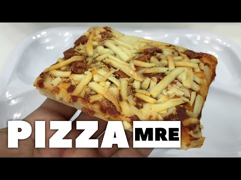 The Pepperoni Pizza MRE Review! And GIVEAWAY!