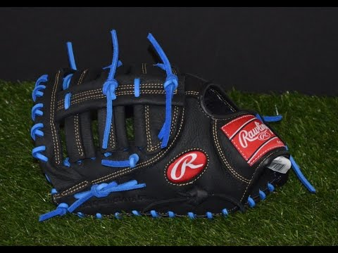 Rawlings Renegade R115FBB Baseball Glove Relace - Before and After Glove Repair