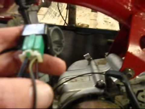 how to fix no spark and wire pit bike