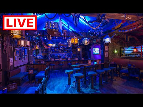 🔴 LIVE:  Trader Sam's Grog Grotto 💀🌀🔥 || Come hang out with us at Disney's Polynesian Resort!