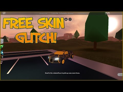 ROBLOX JAILBREAK HOW TO GET FREE SKIN, ENGINE, BRAKES...