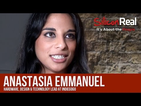 Indiegogo's 3 Tips for a Successful Crowdfunding Campaign - Anastasia Emmanuel   Silicon Real
