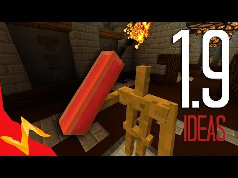 Minecraft 1.9 Weapon Ideas - Dynamite, Spears, Lasers