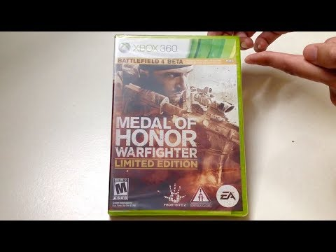 Medal of Honor: Warfighter Limted Edition (Xbox 360) Unboxing