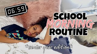 School Morning Routine 2020 *senior year*   Chit Chat GRWM