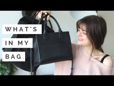 What's In My Bag & Backpack   2018