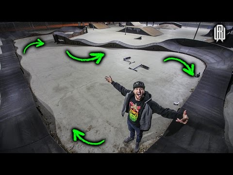 THIS PUMP TRACK IS AWESOME!!